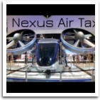 Bell flight Nexus at CES 2020 | showcase Air Taxi 45 min drive into a 10 minute flight